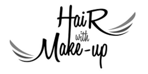 Hair with Make-up | Braut Make-up, Brautstyling · Make-up Augsburg, Logo